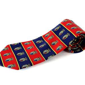 Tommy Hilfiger Lion Crown Castle Shield Tie